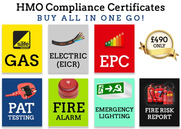 hmo compliance certificates