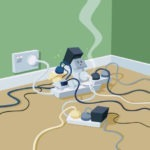 Causes of Electrical Fires in homes? - Get Electrical Safety Certificate